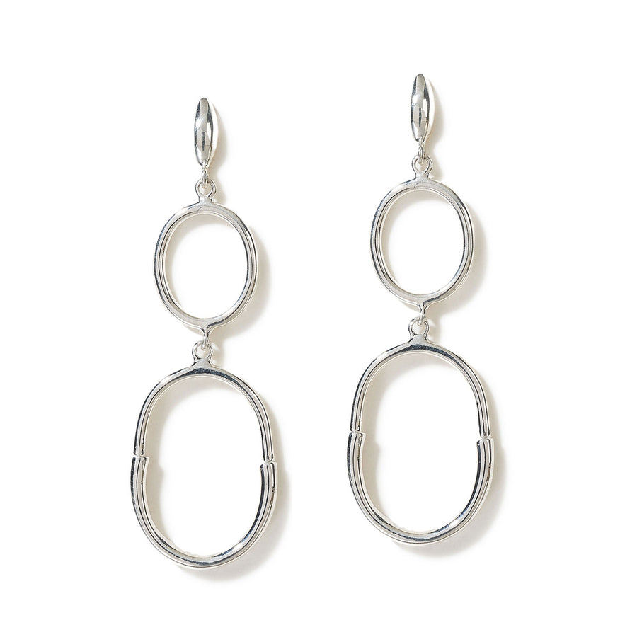 Patricia Earrings - Sterling Silver