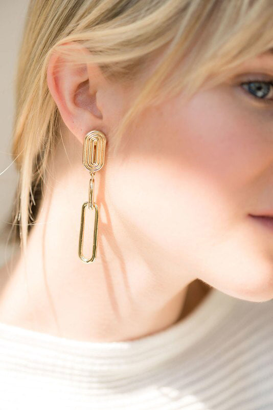 Valeria Earrings - 14K Gold