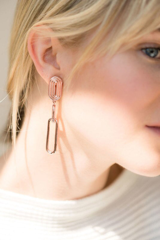 Valeria Earrings - 14K Rose Gold