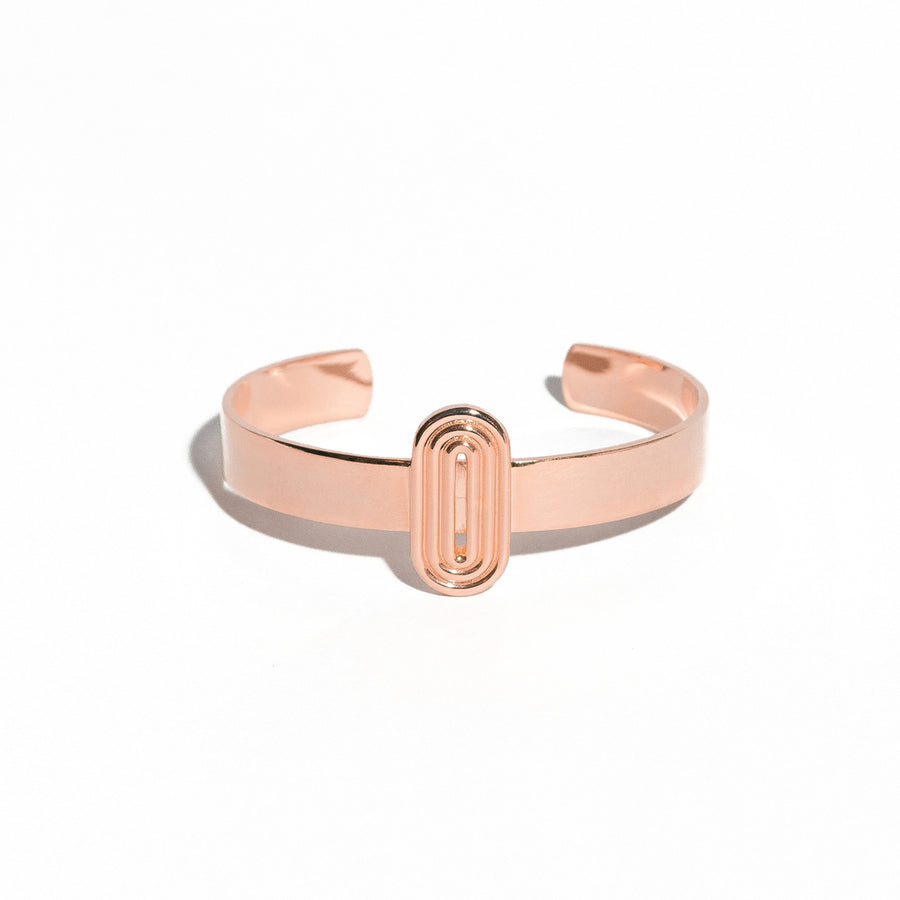 Zoe Mini Cuff - 14K Rose Gold