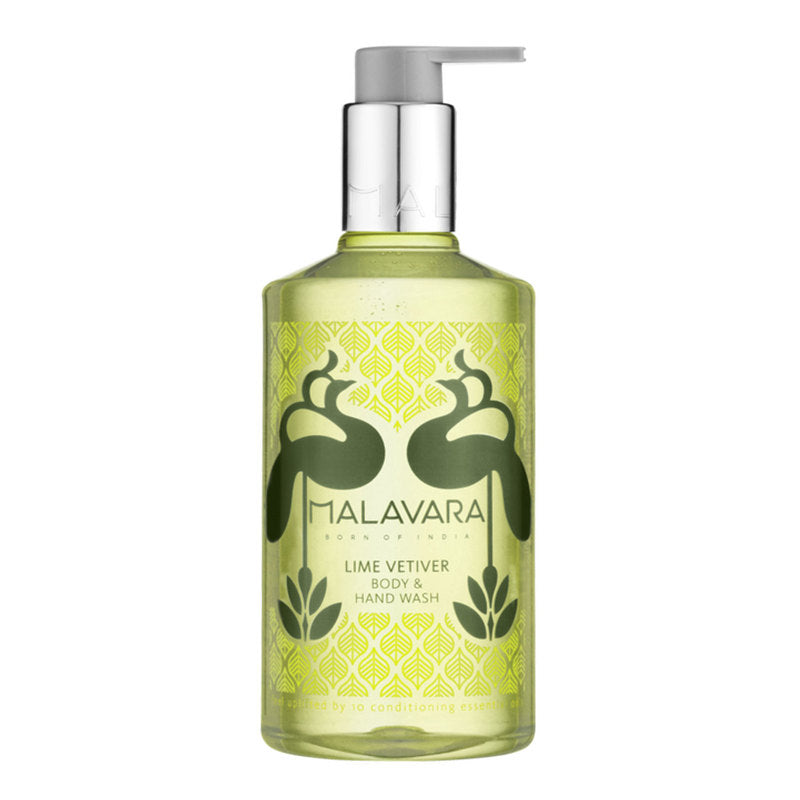Malavara - Lime Vetiver Body & Hand Wash 300ML