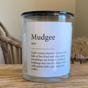 Mudgee Wild / Oak and Sandlewood Candle