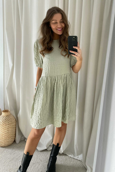 Nimmer 2/4 Dress - Green