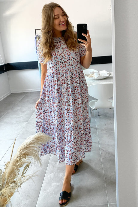 Sunny SS Midi Dress - Kentucky Blue