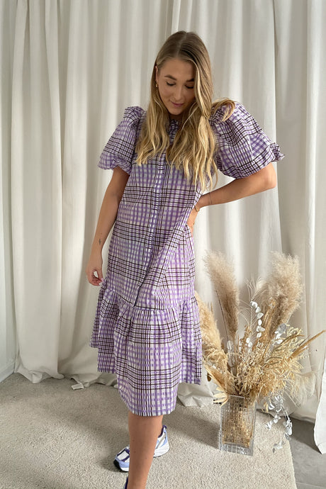 Chelly 2/4 Dress - Purple