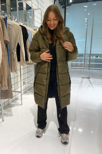 Monica Long Jacket - Green