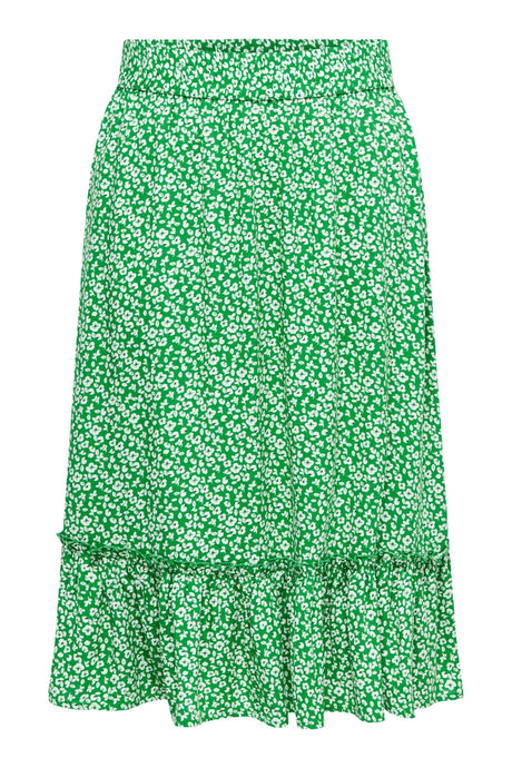 JDY Starr Midi Skirt - Green