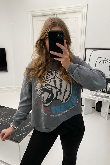 Chrissy LS Sweat - Grey