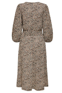 Zille Naya Smock Dress - Beige