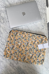 "Maluca Laptop Sleeve 13"" - Yellow Print"