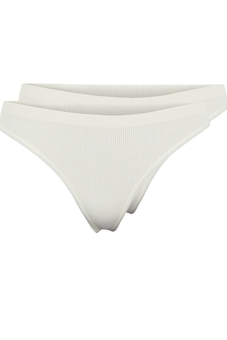 Symmi Rib Thong 2 Pack - Whitecap