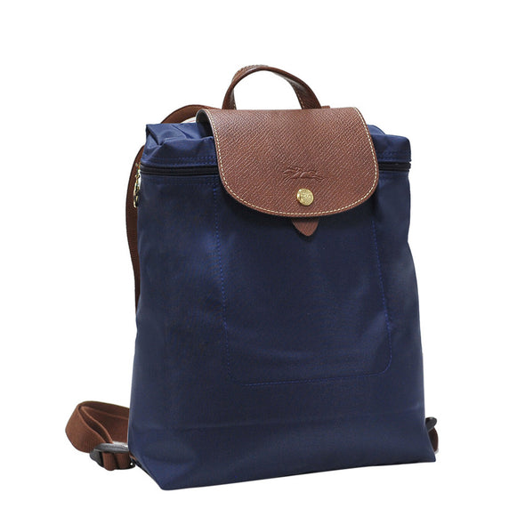Navy Le Pliage Backpack