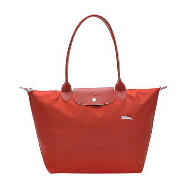 Vermilion Le Pliage Club Tote Bag L