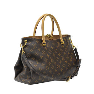 Monogram Canvas Havane Pallas Shopping Tote (Rented Out)