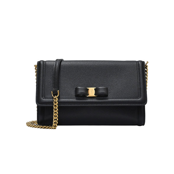 Black Vara Bow Mini Shoulder Bag - 2 (20% Off Rental) (Rented Out)