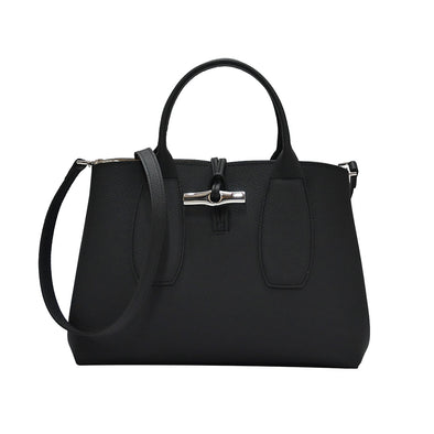 Noir Roseau Top Handle Bag M (20% Off Rental)