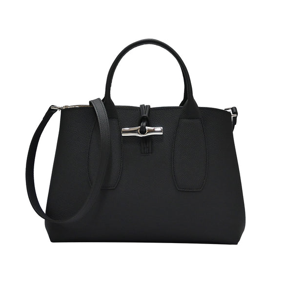 Noir Roseau Top Handle Bag M (Rented Out)