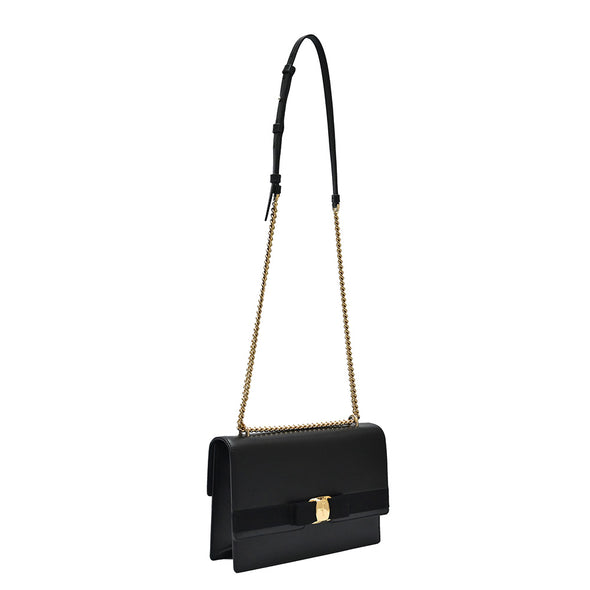 Black Vara Bow Medium Shoulder Bag - 2 (20% Off Rental)