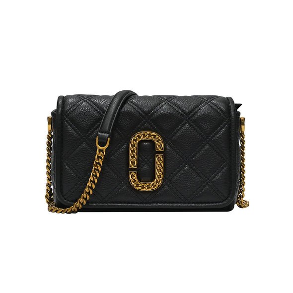 Black The Status Flap Crossbody Bag (Rented Out)