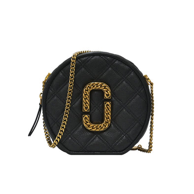 Black The Status Round Crossbody Bag (1+1 Promotion)