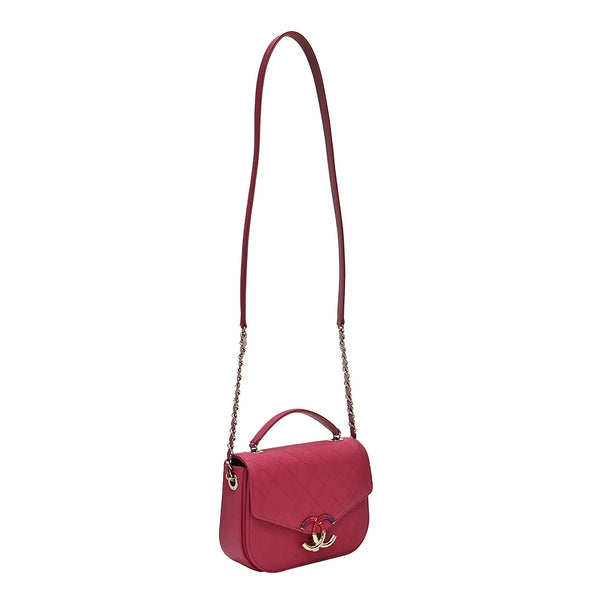 Pink Caviar Small Shoulder Bag (Rented Out)