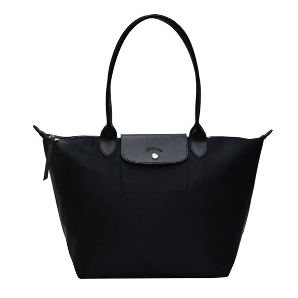 Noir Le Pliage Neo Tote Bag L (2020 New Model)