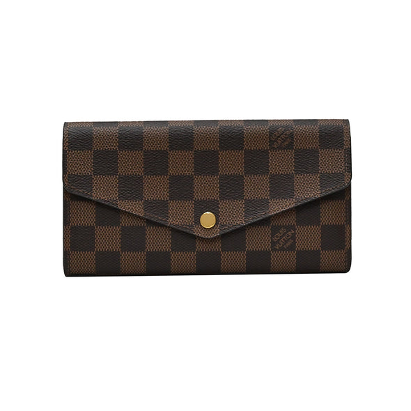 Damier Ebene Canvas Sarah Wallet - 2 (Rented Out)