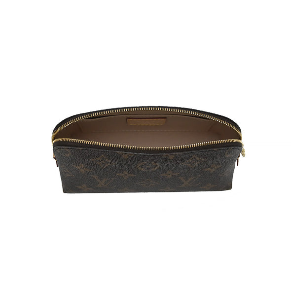 Monogram Canvas Cosmetic Pouch (Rented Out)