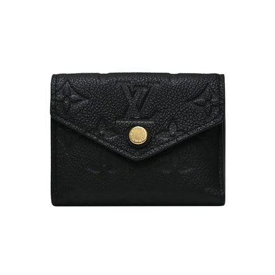 Noir Empreinte Leather Zoe Wallet (Rented Out)