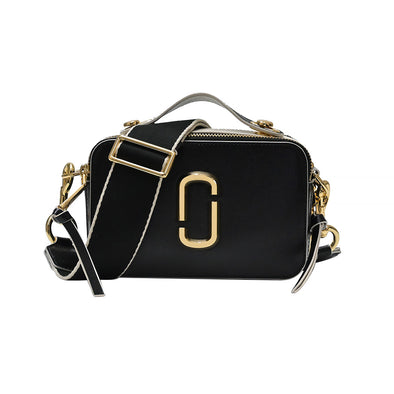 Black Sure Shot Crossbody Bag - 2