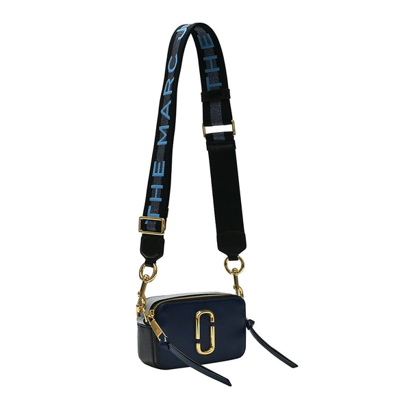 New BlueSea Multi Logo Strap Snapshot Camera Bag