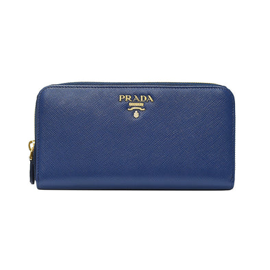 Bluette Saffiano Metal Zip Around Wallet - 3