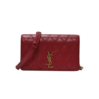 Red Angie Small Shoulder Bag