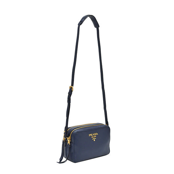 Bluette Double Strap Vitello Daino Shoulder Bag - 2 (20% Off Rental)