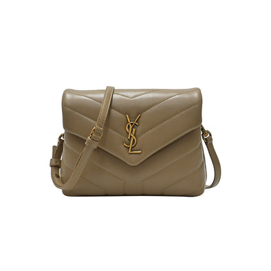 Latte Matelasse Leather Loulou Toy Bag (Rented Out)