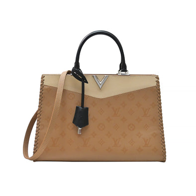 Beige Very Zipped Tote