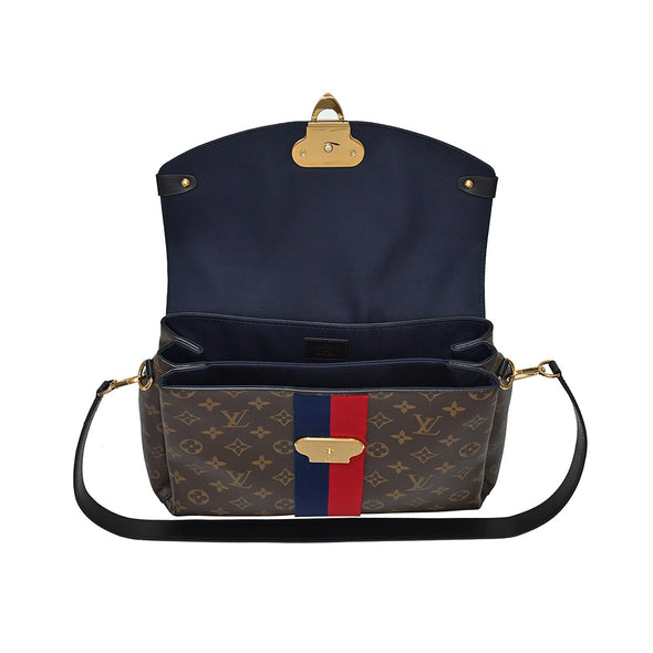 Monogram Canvas Georges MM Top Handle (Rented Out)