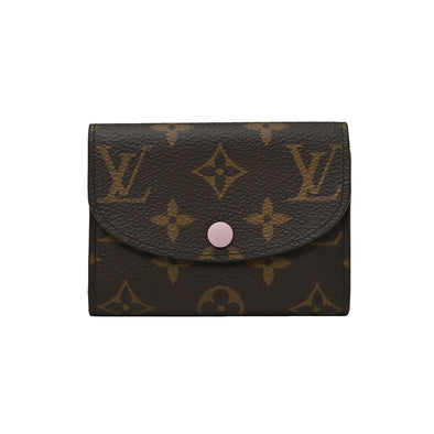 Rose Poudre Monogram Canvas Rosalie Coin Purse (Rented Out)