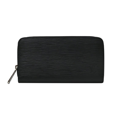 Black Epi Leather Zippy Wallet