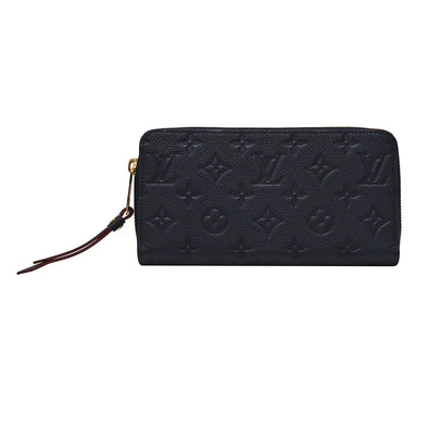 Marine Rouge Monogram Empreinte Zippy Wallet (Rented Out)