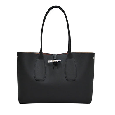 Noir Roseau Shoulder Bag (20% Off Rental)