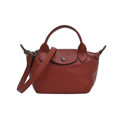 Sienna Le Pliage Cuir Mini Top Handle