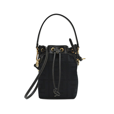 Black Canvas Mon Tresor Mini Bag (20% Rental Promotion)