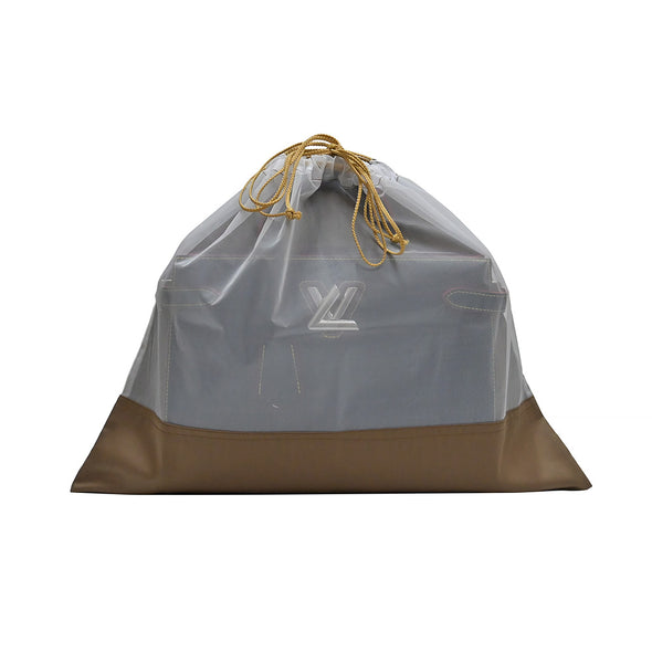 Brown Sheer Fabric Dustbags