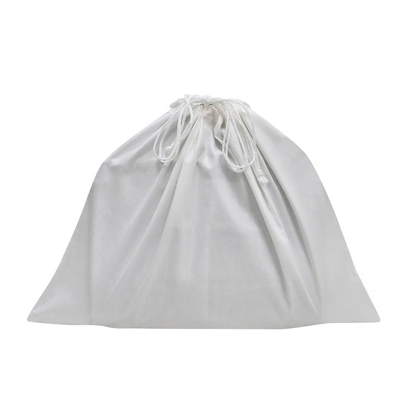 White Fabric Luxury Dustbags