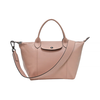 Poudre Le Pliage Cuir Shopping Tote (Logo Strap) - 2 (Rented Out)