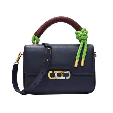 Navy The J LInk Top Handle