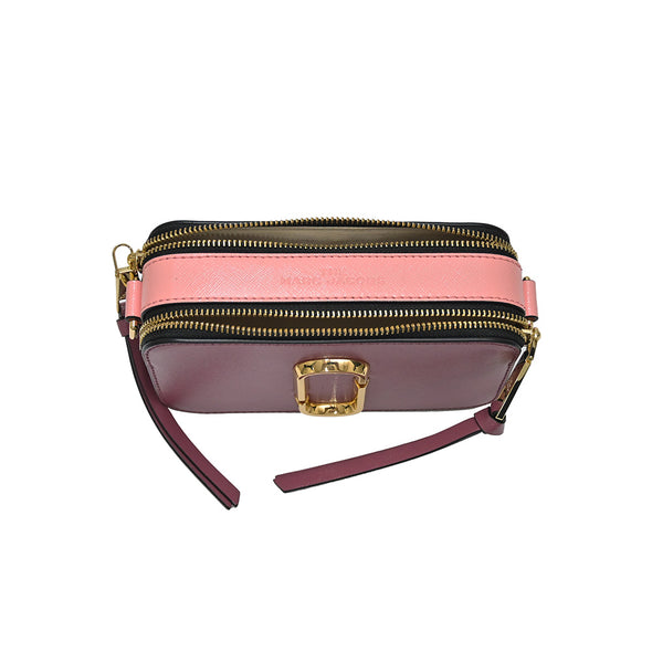 Dusty Ruby Multi Snapshot Small Camera Bag