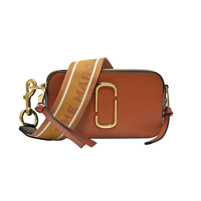 Saddle Brown Multi Snapshot Small Camera Bag