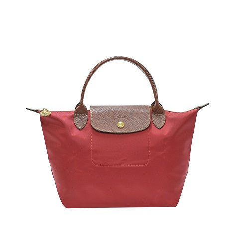 Rouge Le Pliage Small Handbag (Short Handle)